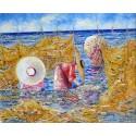 Figure e reti sulla spiaggia