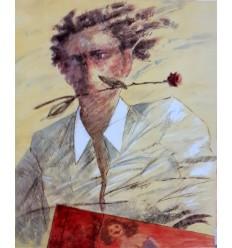 L'uomo con la rosa